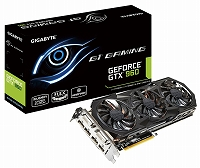 GIGABYTE ビデオカード Geforce GTX960搭載 ゲーミングモデル GV-N960G1 GAMING-2GD
