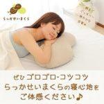 落花生の殻を使った枕